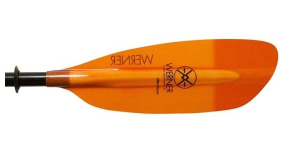 Werner Little Dipper (Straight Fiberglass) 2pc Orange